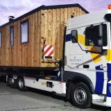 Transport de mobil-home