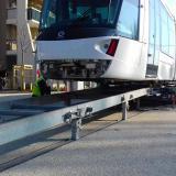 Transport tramway